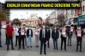 ESENLER ESNAFINDAN FRANSIZ DERGİSİNE TEPKİ