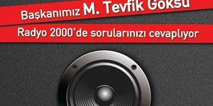 Radyo 2000'de Canlı yayınla Halk Meclisi