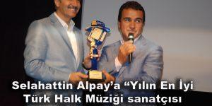 Selahattin Alpay'a ödül