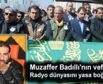 Muzaffer Badıllı son yolculuğunca uğurlandı
