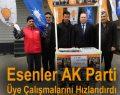 Esenler AK Parti Üye Çalışmalarını Hızlandırdı