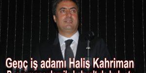 Genç iş adamı Halis Kahriman, Basın mensupları ile kahvaltıda buluştu