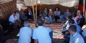 AK Parti heyeti Yama Dağı'nı gezdi