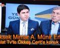 A. Münir Erkal, Ökkeş Cerit'e konuk oldu