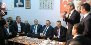Gaziosmanpaşa Belediye Başkan adayı Hasan Tahsin Usta Malatyalılar Derneğini ziyaret etti