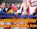 Adıyamanlılar Esenler'de Çiğköfte Festivali düzenledi