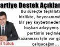 Mikail Sülük: AK Parti için var gücümle çalışacağım