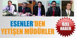 Esenler'den yetişip başka belediyelere transfer olan müdürlerimiz