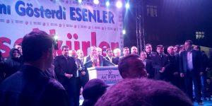 Ak Parti'nin İstanbul'da rekor kırdığı ilçe Esenler