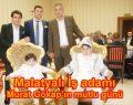 Malatyalı İş adamı Murat Gökalp'ın mutlu günü