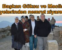 Başkan Göksu ve Meclis üyelerinden nemrut ziyareti