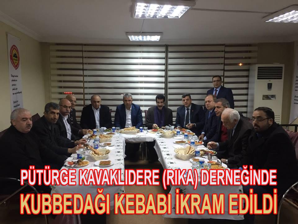 PÜTÜRGE KAVAKLIDERELİLER İSTİŞARE TOPLANTISINDA BULUŞTU