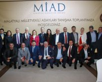 Malatyalı Milletvekili Adayları Tanışma Toplantısı