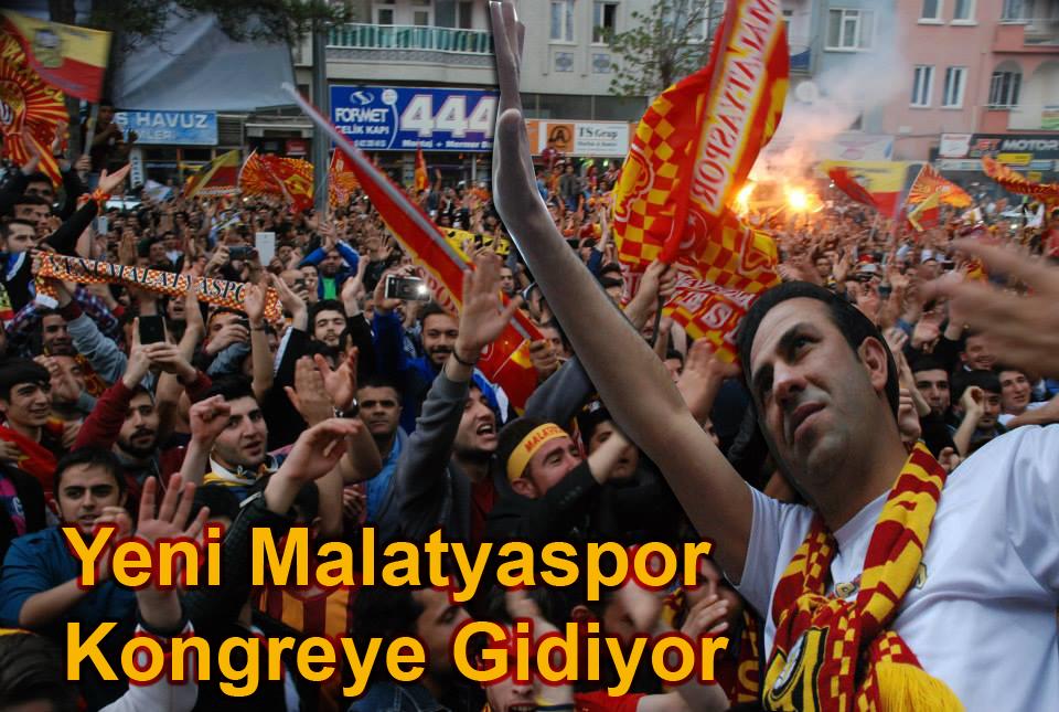 Yeni Malatyaspor Kongreye Gidiyor