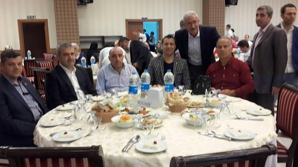 İstanbul'daki Nohutlular İftarda Buluştu