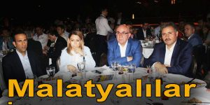 İSTANBUL'DAKİ MALATYALILAR İFTARDA BULUŞTU