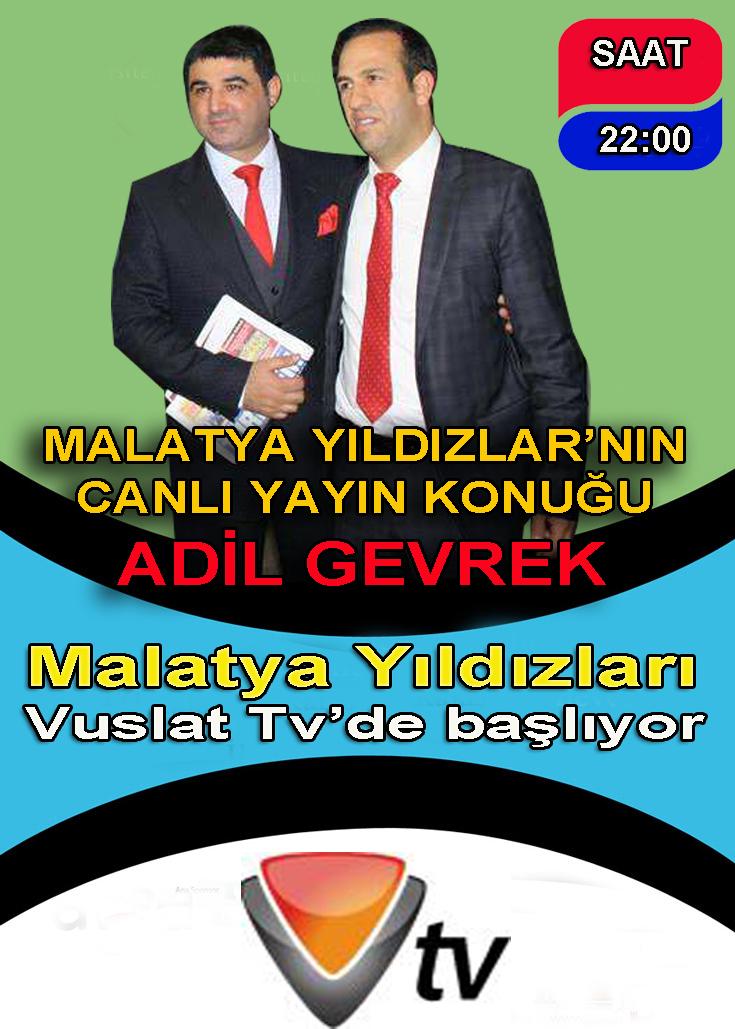 Malatya Yıldızları Vuslat Tv'de başlıyor