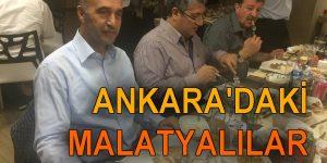 Ankara'daki Malatyalılar iftarda buluştu