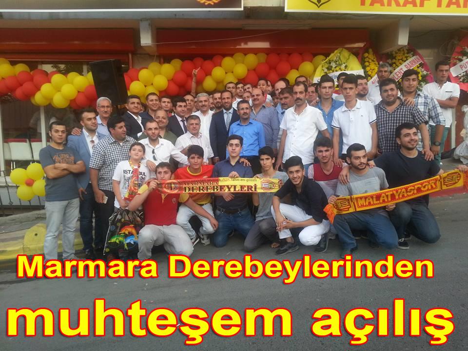 Marmara Derebeylerinden muhteşem açılış