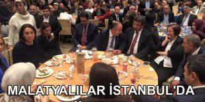 MALATYALILAR İSTANBUL'DA TEK YÜREK OLDU