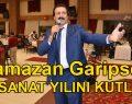GARİPSES 40. SANAT YILINI KUTLADI