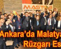Ankara'da Malatya Rüzgarı Esti