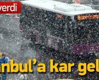 İstanbul'a kar geliyor! Meteoroloji tarih verdi