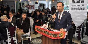 """Adil Gevrek """" Malatyalılık ve Malatyaspor için birlik olalım"""""""