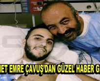 Ahmet Emre Çavuş'dan Güzel Haber Geldi
