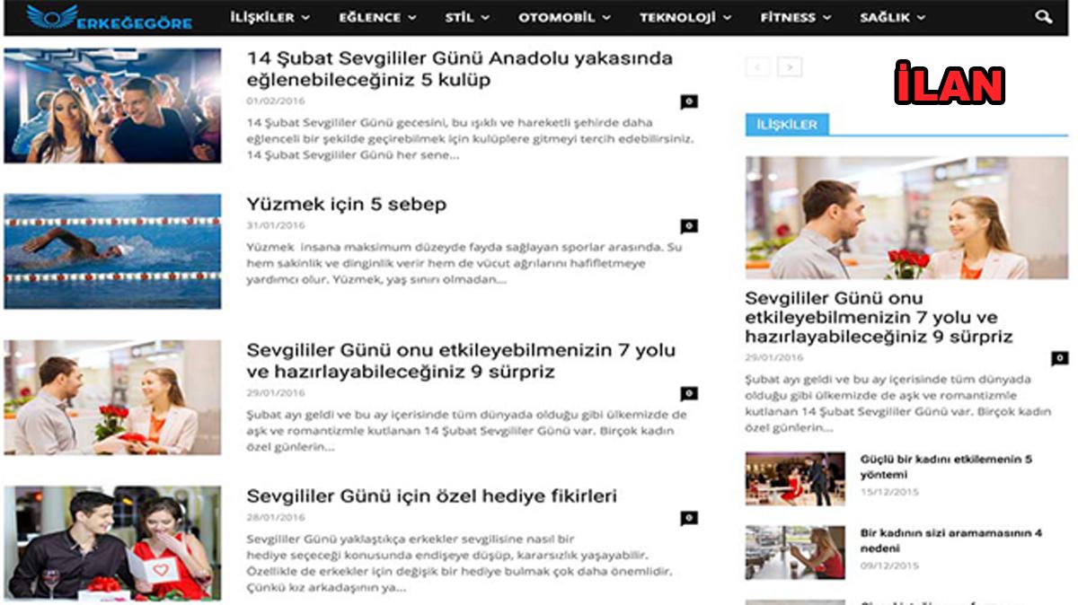 Erkegegore.com Erkek Blogları Arasında Yerini Aldı
