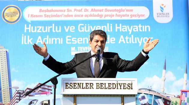 GÜVENLİ ŞEHİR'E İLK ADIM ESENLER'DEN