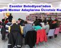 Esenler Belediyesi'nden Engelli Memur Adaylarına Ücretsiz Kurs