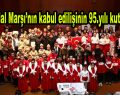 Bağcılar'da İstiklal Marşı'nın kabul edilişinin 95.yılı kutlandı