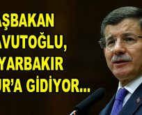 Başbakan Ahmet Davutoğlu, Sur'a gidiyor