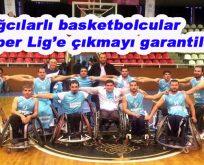 Bağcılarlı basketbolcular Süper Lig'e çıkmayı garantiledi