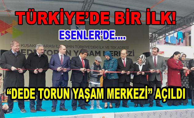 """Esenler'de """"Dede-Torun Yaşam Merkezi"""" Açıldı"""