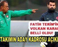 A Milli Futbol Takımımızın Aday Kadrosu Açıklandı!