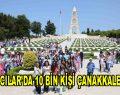 Bağcılar'da 10 Bin kişi Çanakkale'yi ziyaret edecek