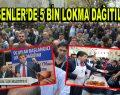 Esenler'de 5 Bin Lokma Dağıtıldı