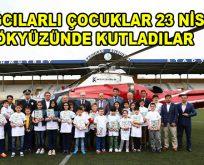 Bağcılarlı Çocuklar 23 Nisan'ı Gökyüzünde Kutladılar