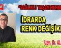 İDRARDA RENK DEĞİŞİKLİĞİ