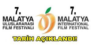 7. Malatya Uluslararası Film Festivali için Tarih Açıklandı!