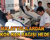 Malatyalılardan Rekor Kan Bağışı Hedefi!