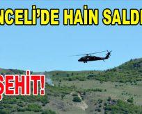 Tunceli'de Hain Saldırı: 3 Şehit!