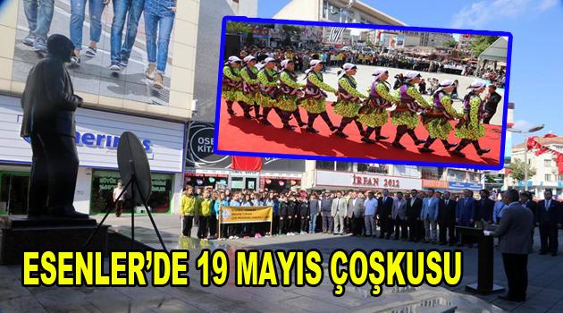 Esenler'de 19 Mayıs Çoşkusu