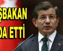 Başbakan Davutoğlu'ndan veda konuşması