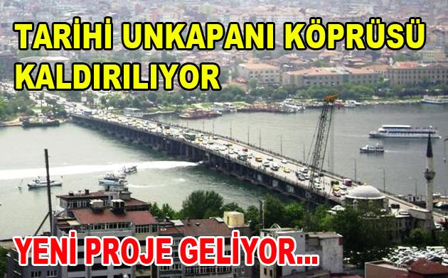 Unkapanı Köprüsü Kapanıyor