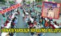 Esenler'de 5 Bin kişi Kardeşlik Sofrası'nda buluştu