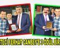 Gazeteci Ferhat Canbey'e 3 ödül birden!