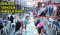 ESENLER'DE 7 BİN KİŞİ KARDEŞLİK SOFRASI'NDA BULUŞTU